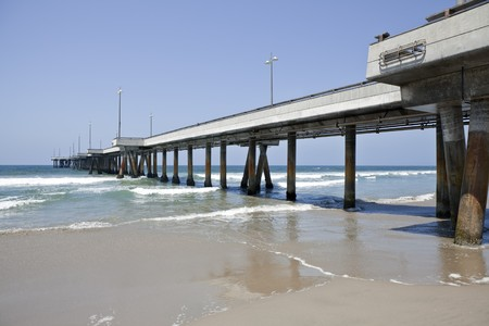 Venice Pier owned by the City of Los Angeles in southern California. Stock Photo - 7419911