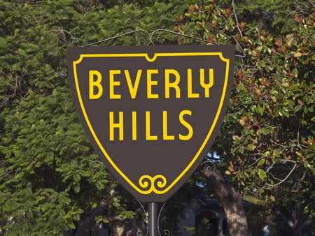 BEVERLY HILLS CALIFORNIA - SEPTEMBER 4, 2010:  The people of Beverly Hills prepare to celebrate the citys centennial on January 28, 2014.