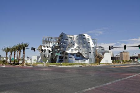 LAS VEGAS NEVADA - SEPTEMBER 12:  Modernist architect Frank Gehry's new creation