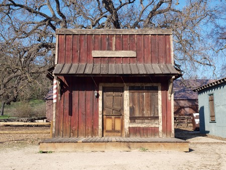 saloon: Historic Paramount Ranch, now part of Santa Monica Mountains National Park.