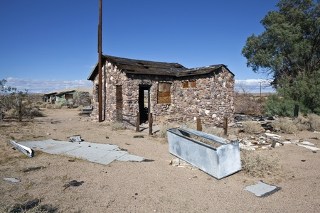 Mojave Desert Ruin near historic Route 66 in southern California. Stock Photo - 8338015