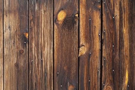Sun burned, dried crisp, aging wooden fence in the center of California's Mojave Desert. Stock Photo - 8338017