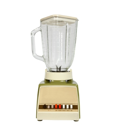 Vintage blender from the late 1960s. Stock Photo