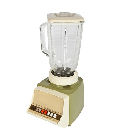 appliance: Vintage blender from the late 1960s. Stock Photo