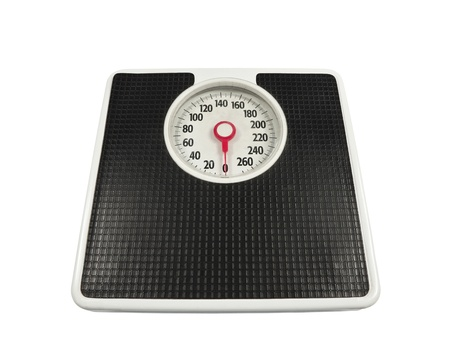 Old, worn bathroom scale ready to deliver the news. Stock Photo - 8543947