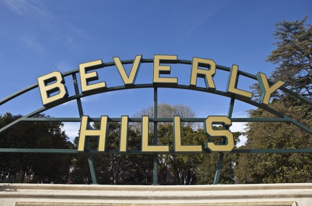 BEVERLY HILLS CALIFORNIA - JANUARY 5: MTA officials receive federal approval to begin engineering work on subway extension below Beverly Hills streets on January 5, 2011 in Beverly Hills, California.