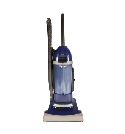 Worn but dependable bagless vacuum cleaner. Stock Photo - 8566545