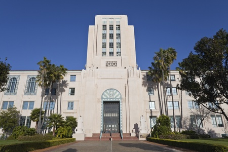 San Diego, California, USA - March, 22nd 2011:  The Historic San Diego City and County Administration Building. Stock Photo - 9205614