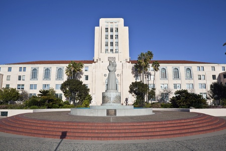 San Diego, California, USA - March, 24th 2011: The historic San Diego City and County Administration Building. Stock Photo - 9271849