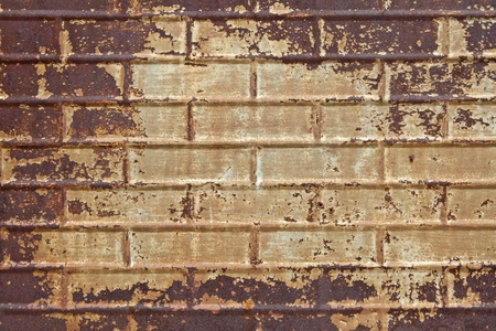 Old grungy rusted textured tin background. Stock Photo - 10431163