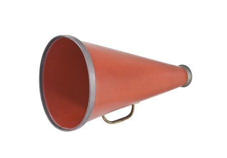 Vintage megaphone from the 1920