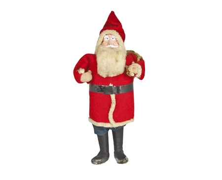 Vintage antique Santa toy doll from the early 1920's. Stock Photo - 10920281