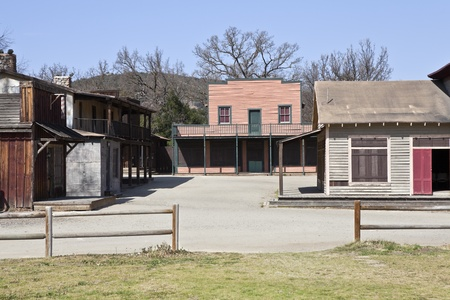 Historic US National Park owned ghost town in Southern California.