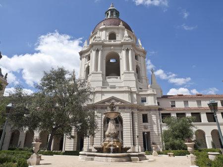 Historic Pasadena City Hall Stock Photo - 13182503