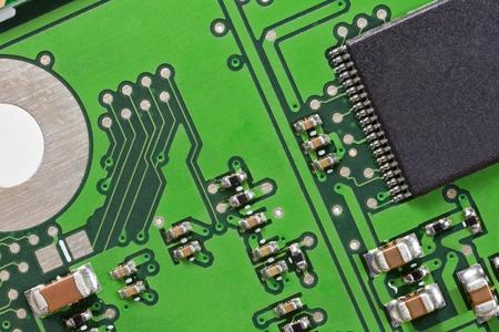 Macro of circuit board Stock Photo - 13521779