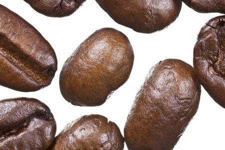 Extreme macro of coffee beans. Stock Photo - 13520757