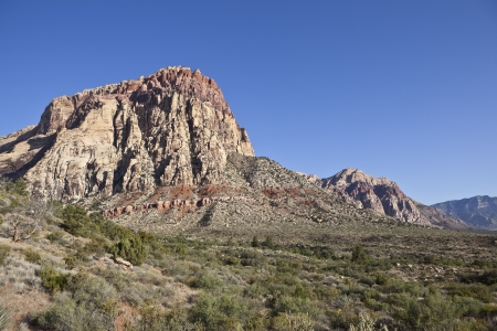 Red Rock Canyon National Conservation area near Las Vegas, Nevada  Stock Photo - 13655788