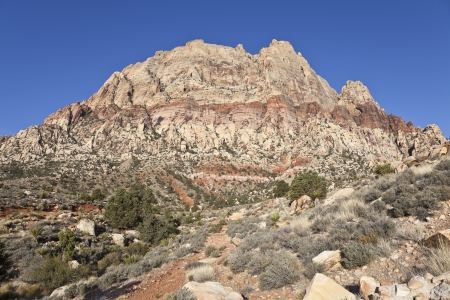 Red Rock Canyon National Conservation area near Las Vegas, Nevada. Stock Photo - 13706638
