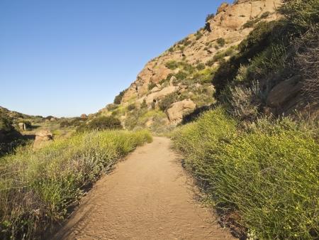 Rocky Peak Park above Los Angeles California. Stock Photo - 13786133