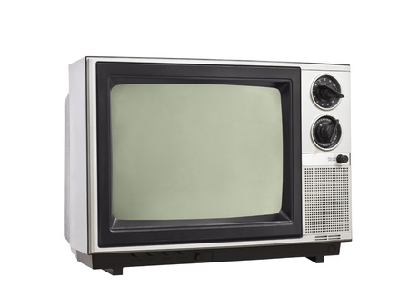 s video: Vintage Television isolated