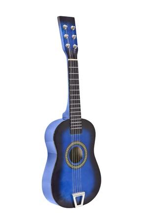 Toy ukulele size toy acoustic guitar isolated  Stock Photo - 14562406