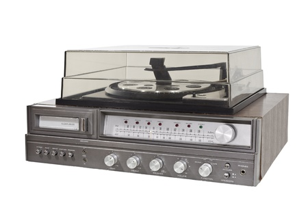 Vintage 1970s 8 track stereo record player Stock Photo - 14627519