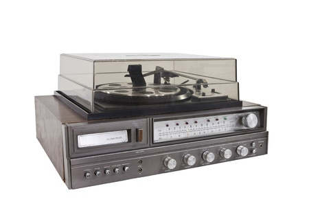 Retro Hi-Fi stereo Stock Photo - 14627518