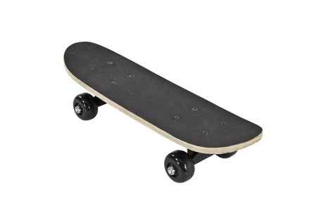 Skateboard isolated on white Stock Photo - 14663247