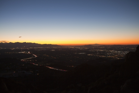 The San Fernando Valley in Los Angeles County photo