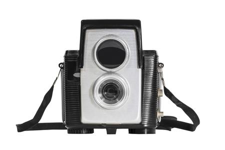 Vintage deco camera isolated Stock Photo - 16647123