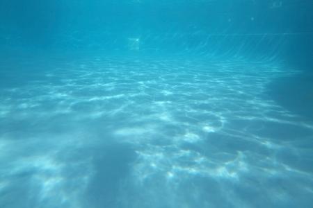 Deep blue swimming pool underwater light pattern background. Stock Photo - 17107699