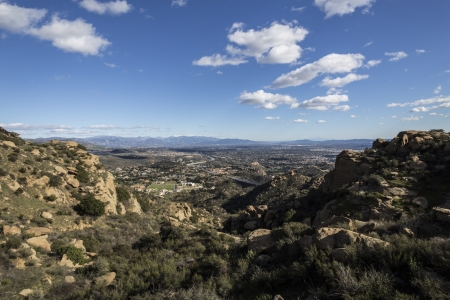 stoney point: San Fernando Valley in Los Angeles, California