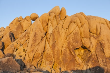 Jumbo Rocks at Joshua Tree National Park Stock Photo - 17844901