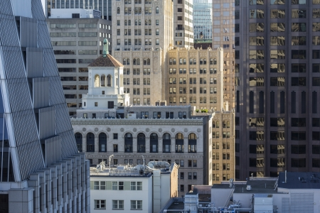 Editorial view of San Francisco's financial district towers. Stock Photo - 18018449
