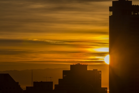 Sunrise over San Francisco Stock Photo - 18394878