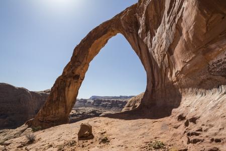 Corona natural arch near scenic Moab Utah Stock Photo - 18564953