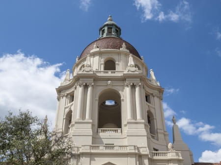 Pasadena city hall cupola dome in southern California. Stock Photo - 19642937
