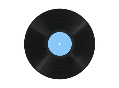 Vintage record album isolated with clipping path. Stock Photo - 21893156