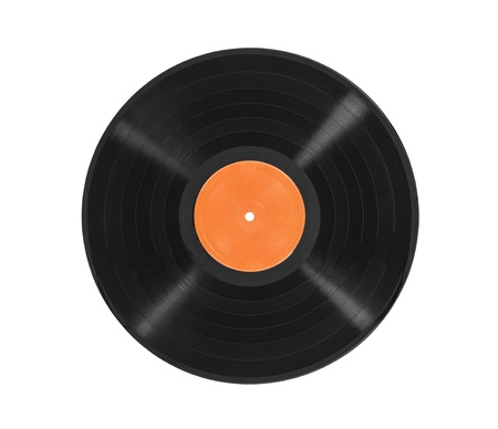 Old vinyl LP record album isolated with clipping path. Stock Photo - 21894255