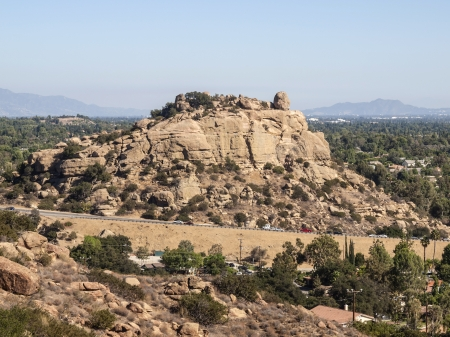 stoney point: Stoney Point park in the Chatsworth area of the City of Los Angeles. Stock Photo