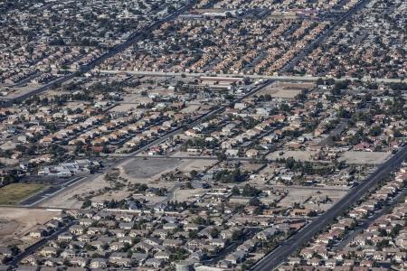 Suburban Las Vegas residential sprawl  photo