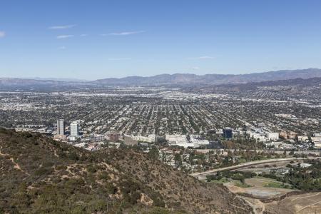 San Fernando Valley area of Los Angeles, California