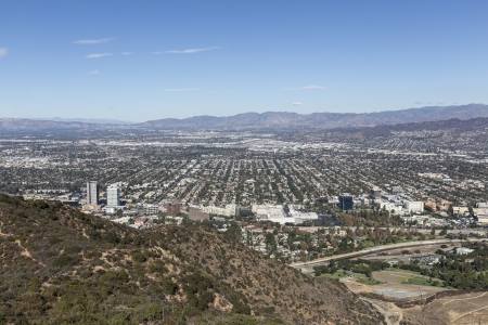 burbank: San Fernando Valley area of Los Angeles, California