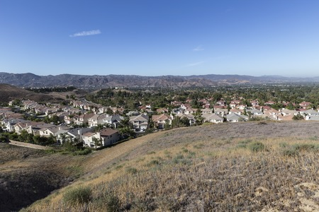Suburban Simi Valley bedroom community near Los Angeles, California