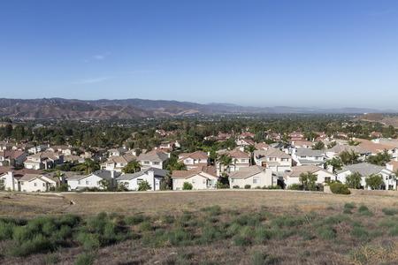 suburban: Simi Valley bedroom community near Los Angeles in Ventura County California    Stock Photo