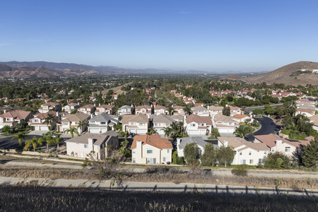 Comfortable suburban neighborhood in Ventura County