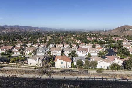 suburban neighborhood: Comfortable suburban neighborhood in Ventura County