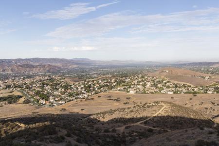 san fernando valley: Simi Valley west of Los Angeless San Fernando Valley in southern California.
