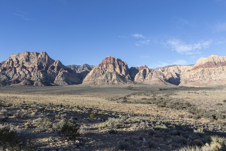 Red Rock Canyon National Conservation Area near Las Vegas Nevada. Stock Photo