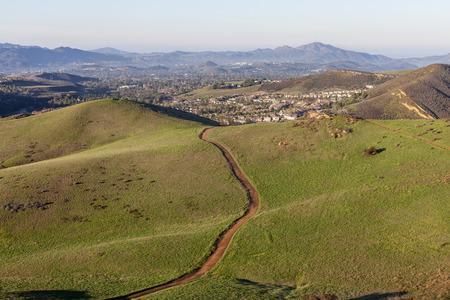 rancho: Rutas de senderismo Suburban cercanos a Los Ángeles en Thousand Oaks, California.